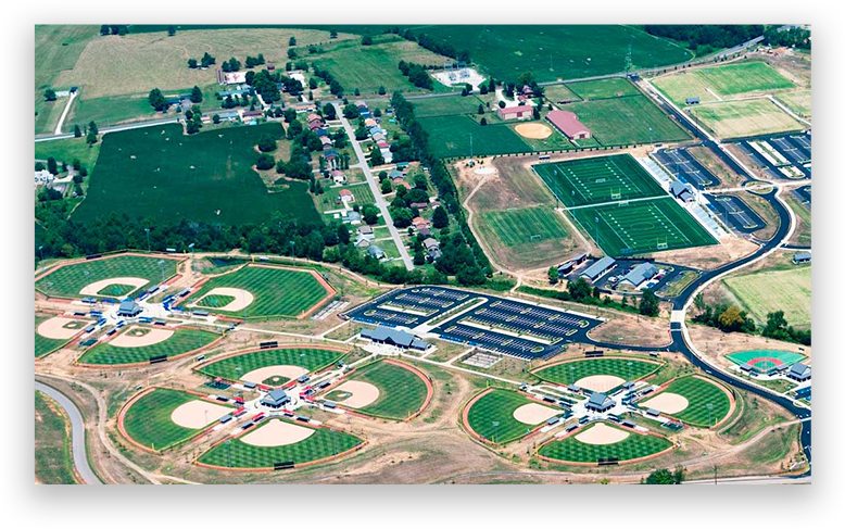 Elizabethtown Sports Complex at Youth Baseball Nationals Kentucky Tournament